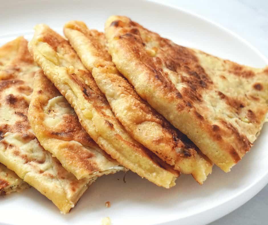 stuffed flatbread recipe