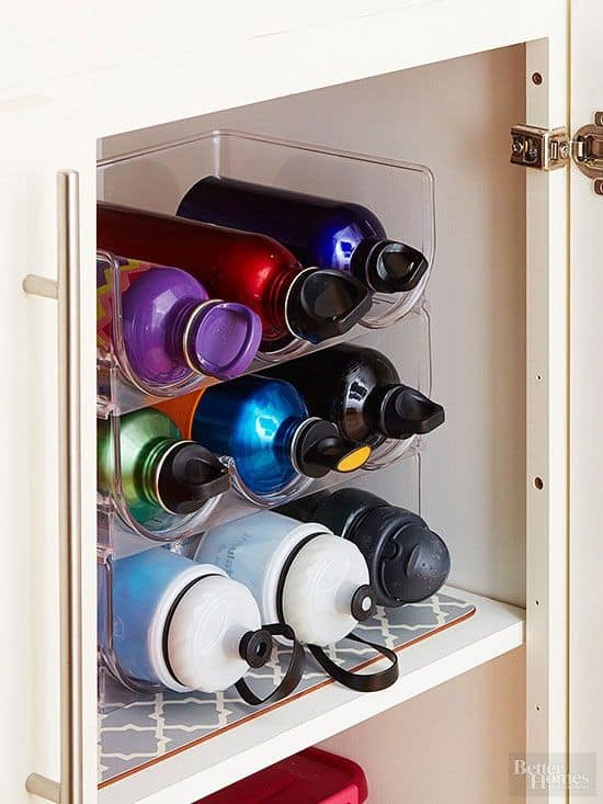 bottle organizing