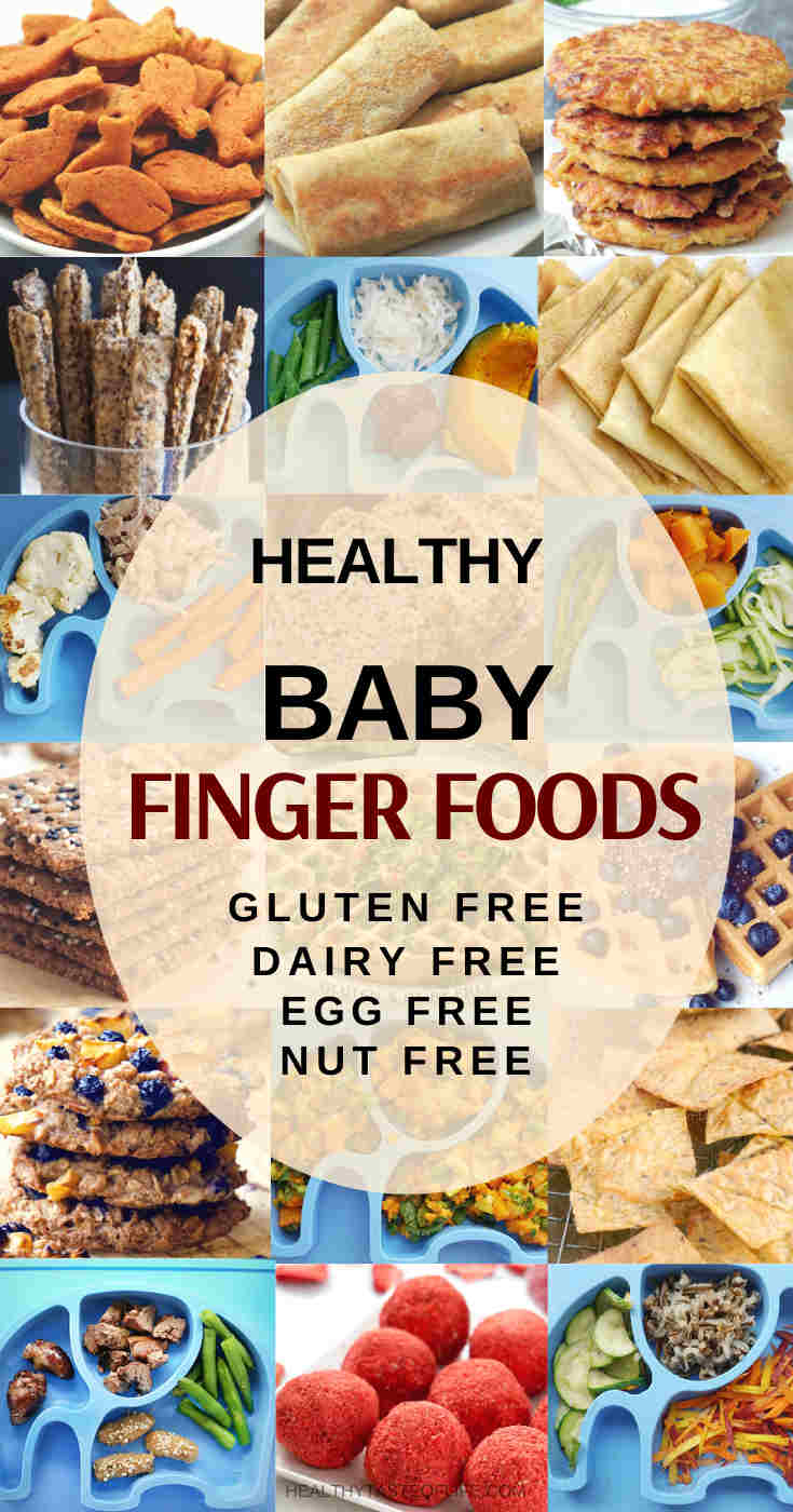 20 Finger Foods For Baby Toddler On A Gluten Dairy Egg