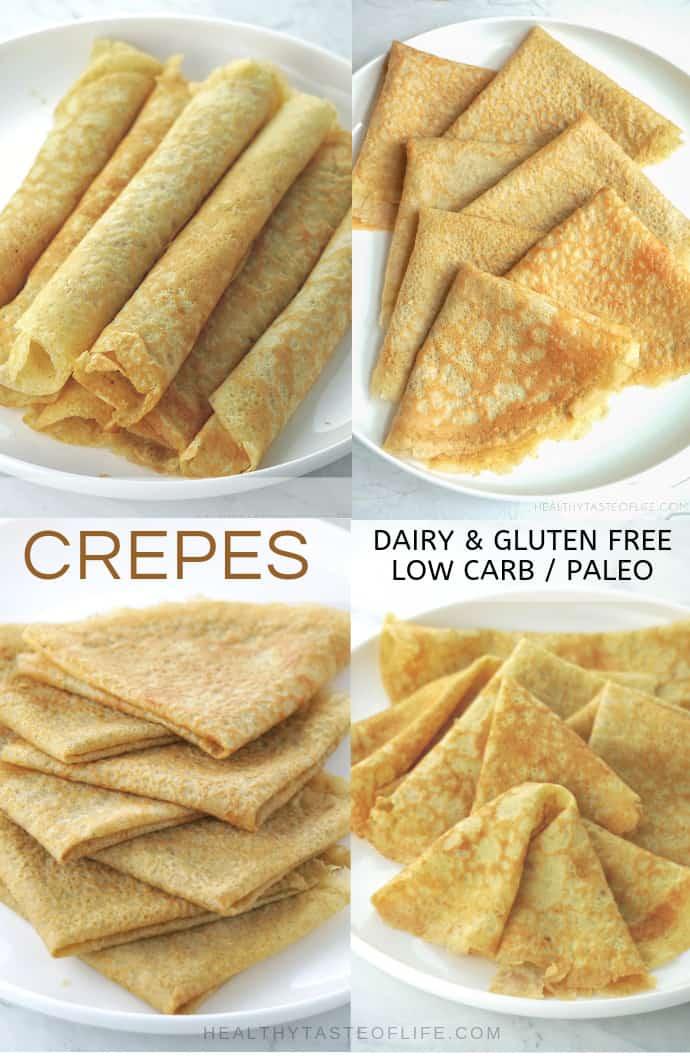 Crepe Recipe Savory Low Carb