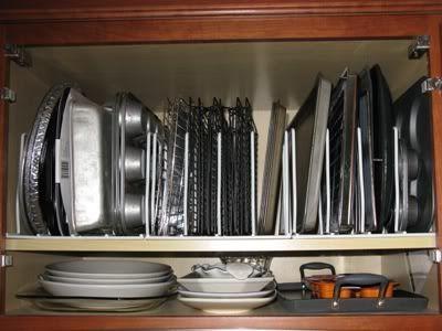 cabinet organizing