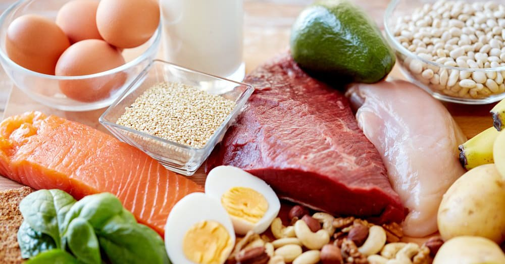 Don't combine more types of protein in one meal