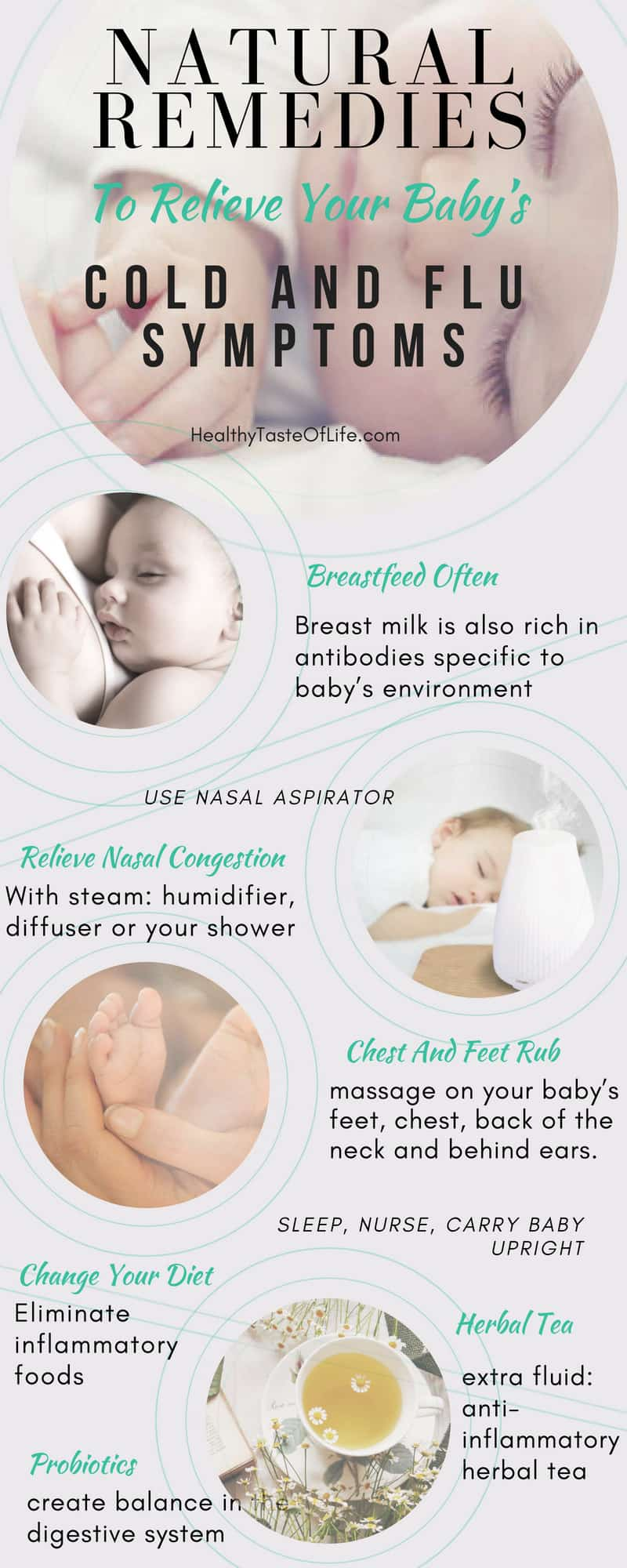 Natural Remedies To Relieve Your Baby S Cold And Flu Symptoms