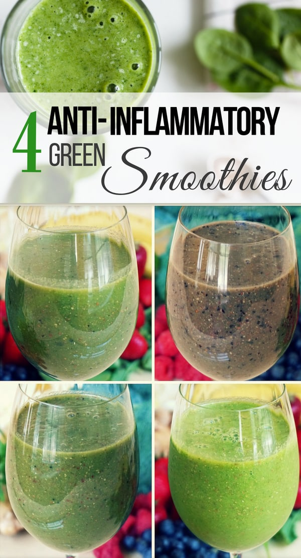4 Anti-Inflammatory Green Smoothie Recipes | Healthy Taste ...