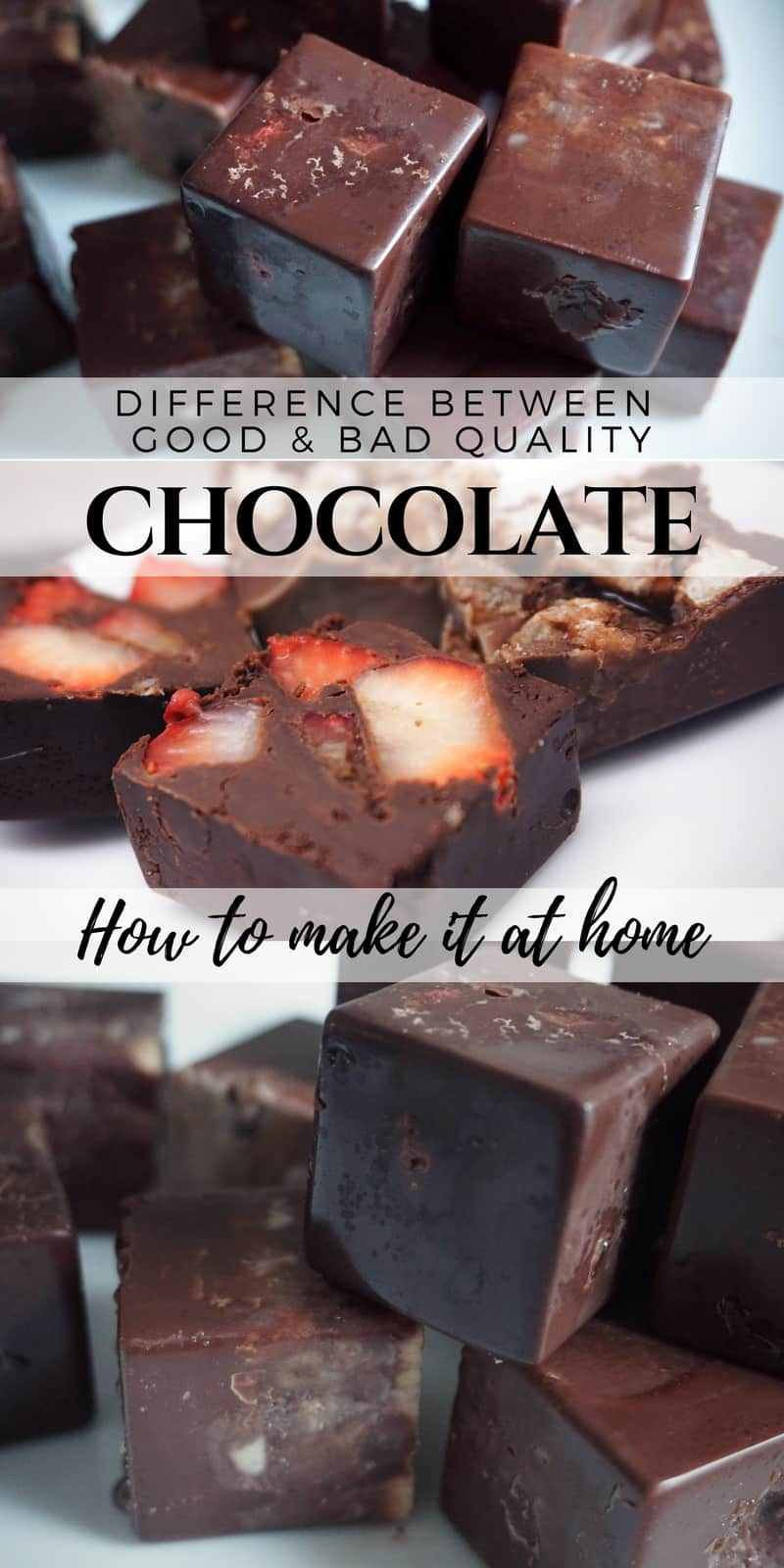 Differences Between Good And Bad Quality Chocolate And How to Make It At Home