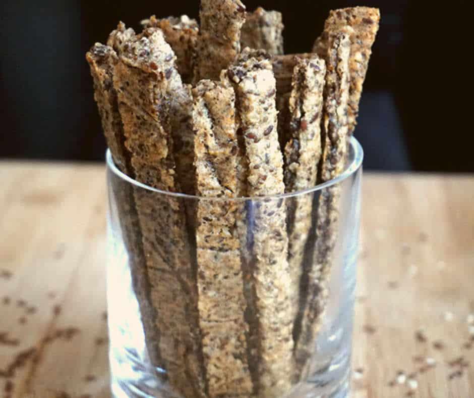 Quinoa Stick Or Breadsticks Gluten Free Vegan Snack