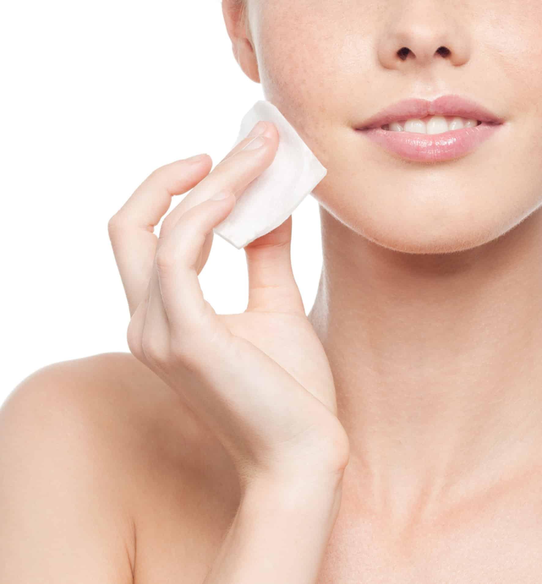Remove makeup naturally