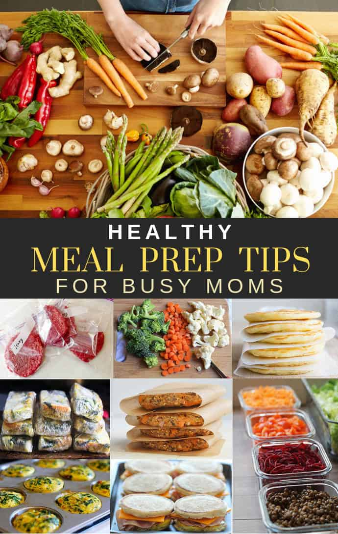 Healthy Gluten Free Dairy Free Meal Prep Tips.