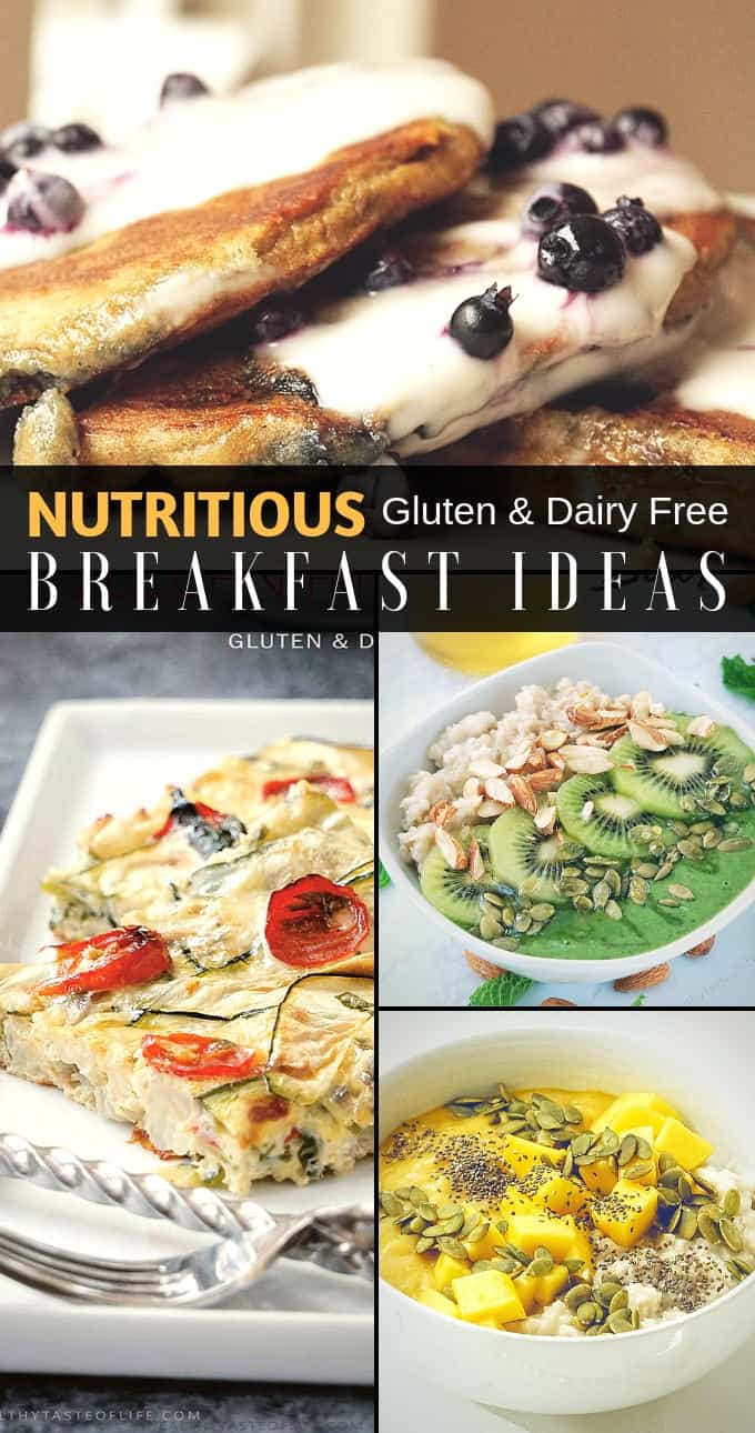 nutritious breakfast ideas – gluten and dairy free (part 2) |healthy