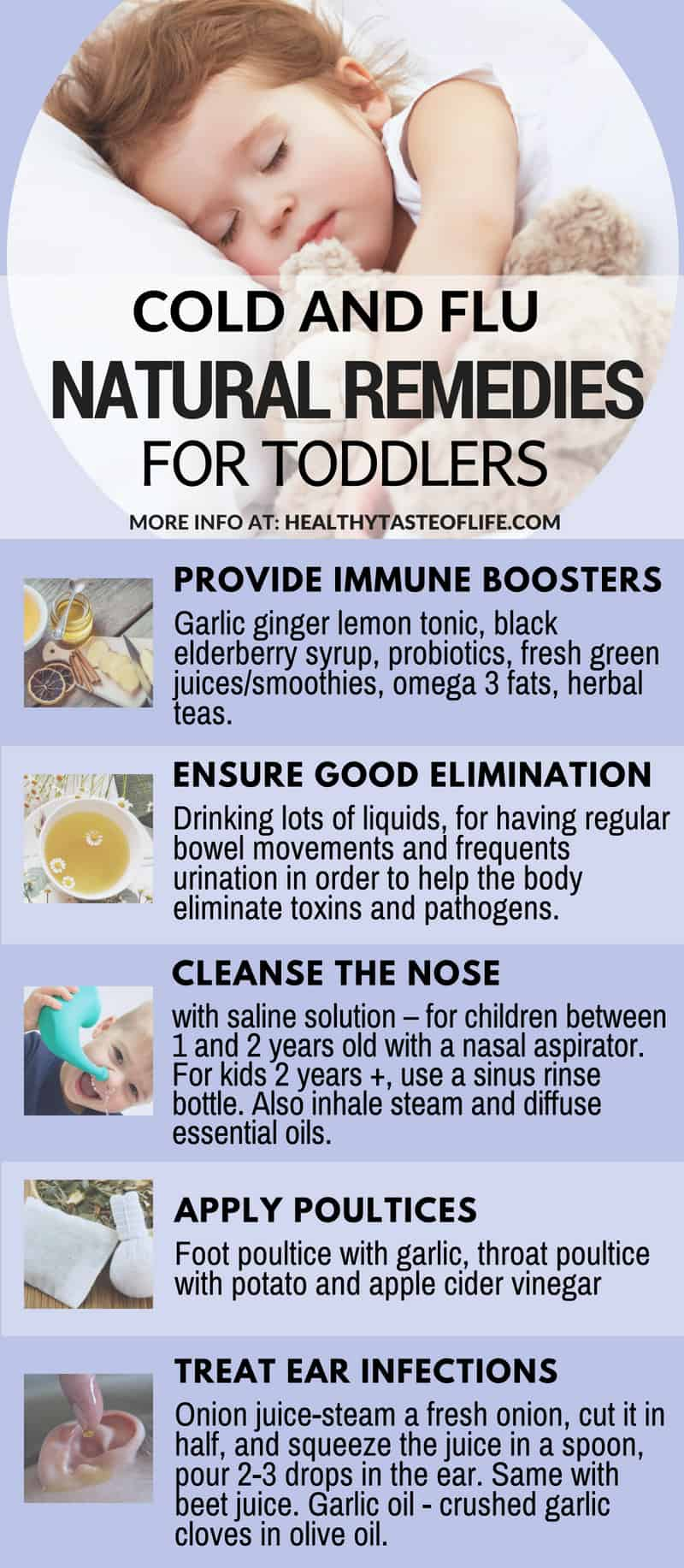 Cold Amp Flu Natural Remedies For Toddlers Healthy Taste