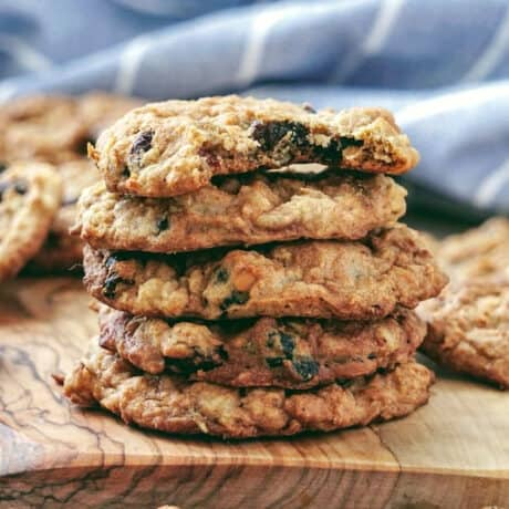healthy vegan oatmeal cookies recipe