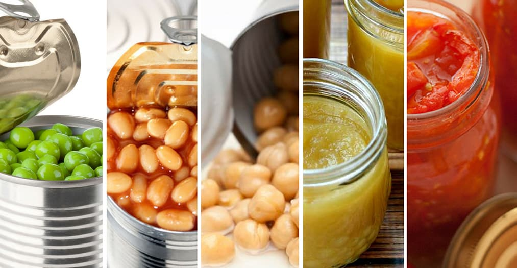 Healing chronic illness through diet: clean safe canned foods