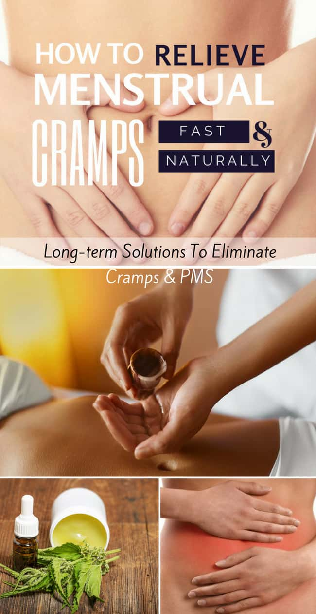 How To Relieve Period Cramps Fast Naturally | Healthy Taste Of Life