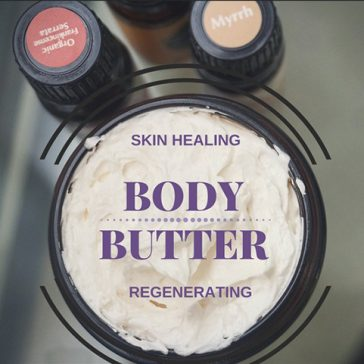 DIY Skin healing & regenerating whipped body butter