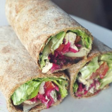 These healthy homemade tortillas / wraps are gluten free, vegan, gum free, oil free yet flexible and delicious! This gluten free tortilla / wrap recipe has a mix of gluten free flours (brown rice, cassava and sorghum) suitable for clean eating diets and allergy friendly. You can enjoy these wraps / tortillas as a savory breakfast, lunch or dinner.