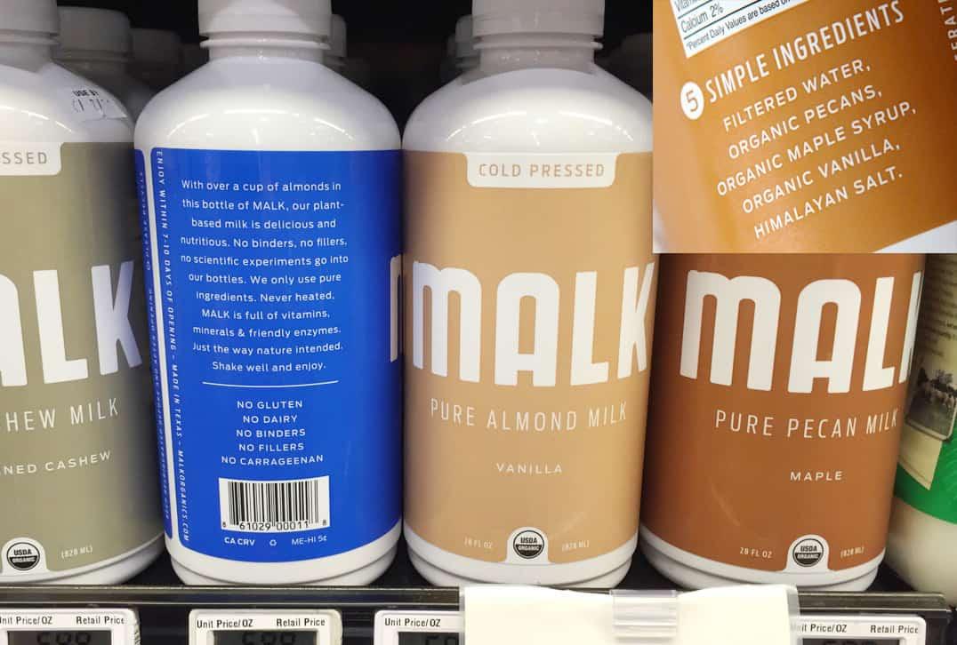 Malk plant milk