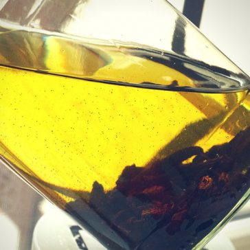 How to make vanilla bean infused grape seed oil, DIY recipe