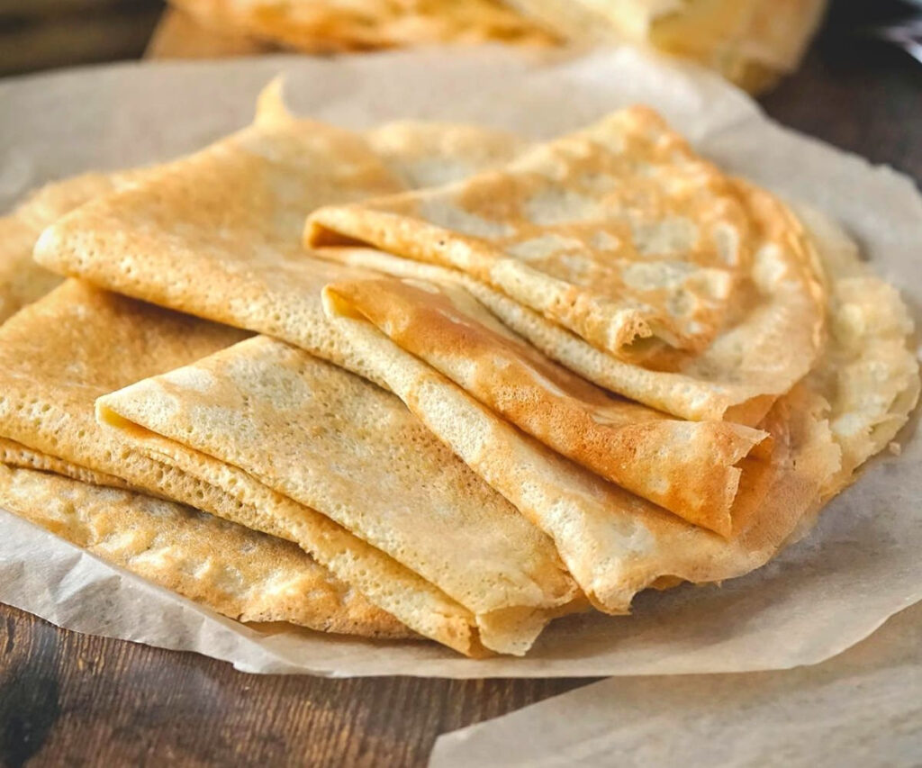 gluten free crepes dairy free