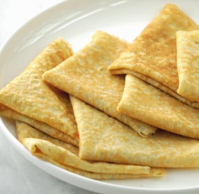 grain free low carb crepes almond flour banana flour.