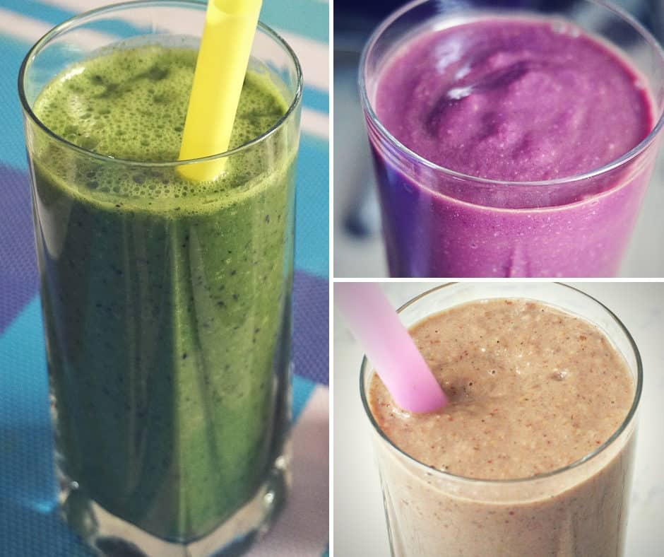 Healthy Meal Replacement Smoothies Energizing & Healing Dairy Free & Vegan