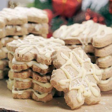 Gluten free dairy free egg free cut out Christmas Sugar Cookies (Vegan)