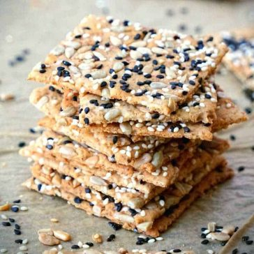gluten free crackers recipe vegan homemade