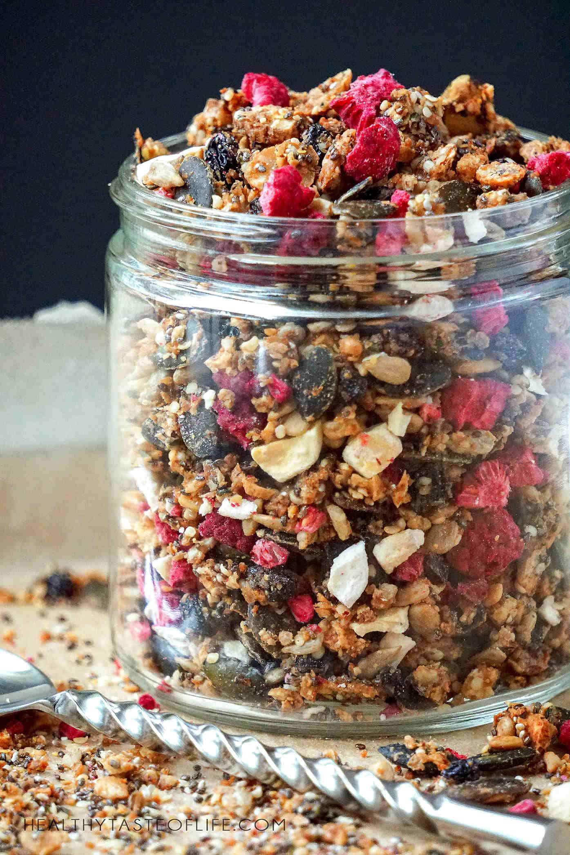 Grain Free Nut Free Granola Recipe