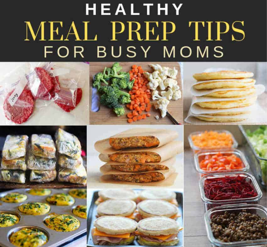 Healthy Meal Prepping Tips For busy Moms