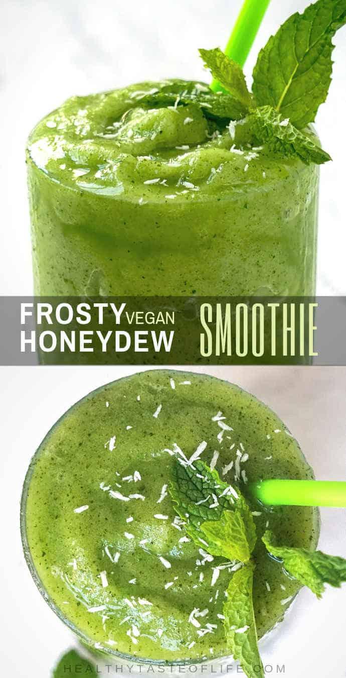 honeydew smoothie