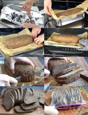 Gluten Free Sourdough Pumpernickel Bread Recipe Step By Step Instructions