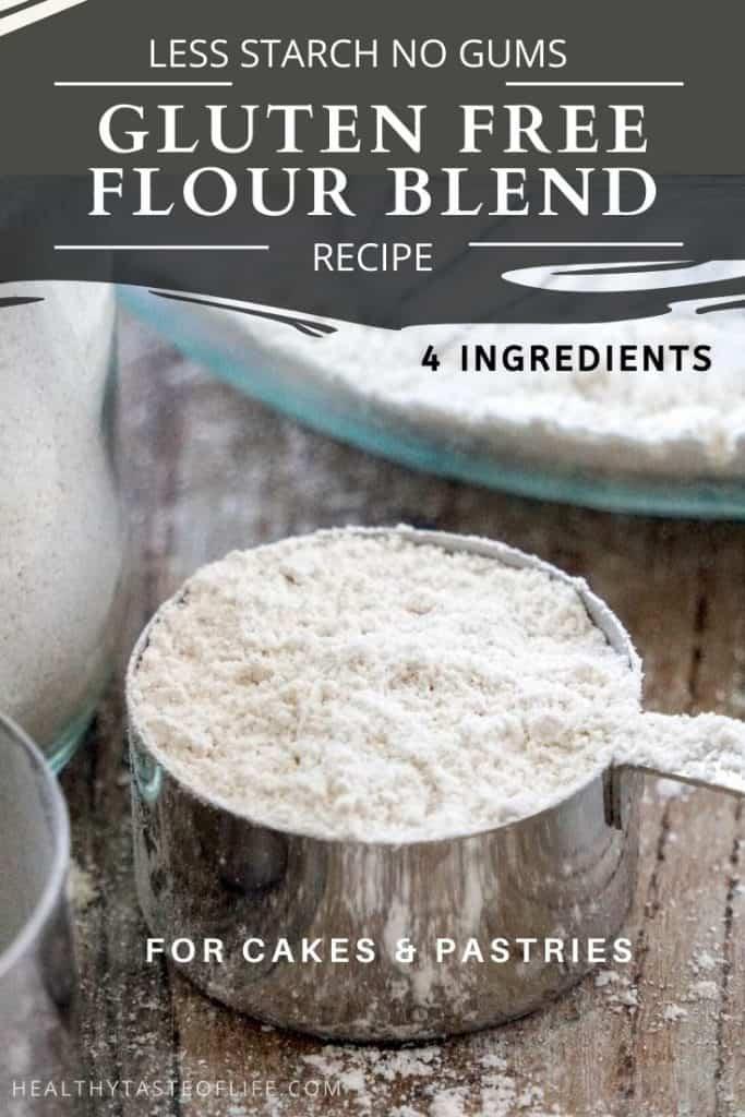 DIY Gluten Free Pastry Flour Blend / Mix
