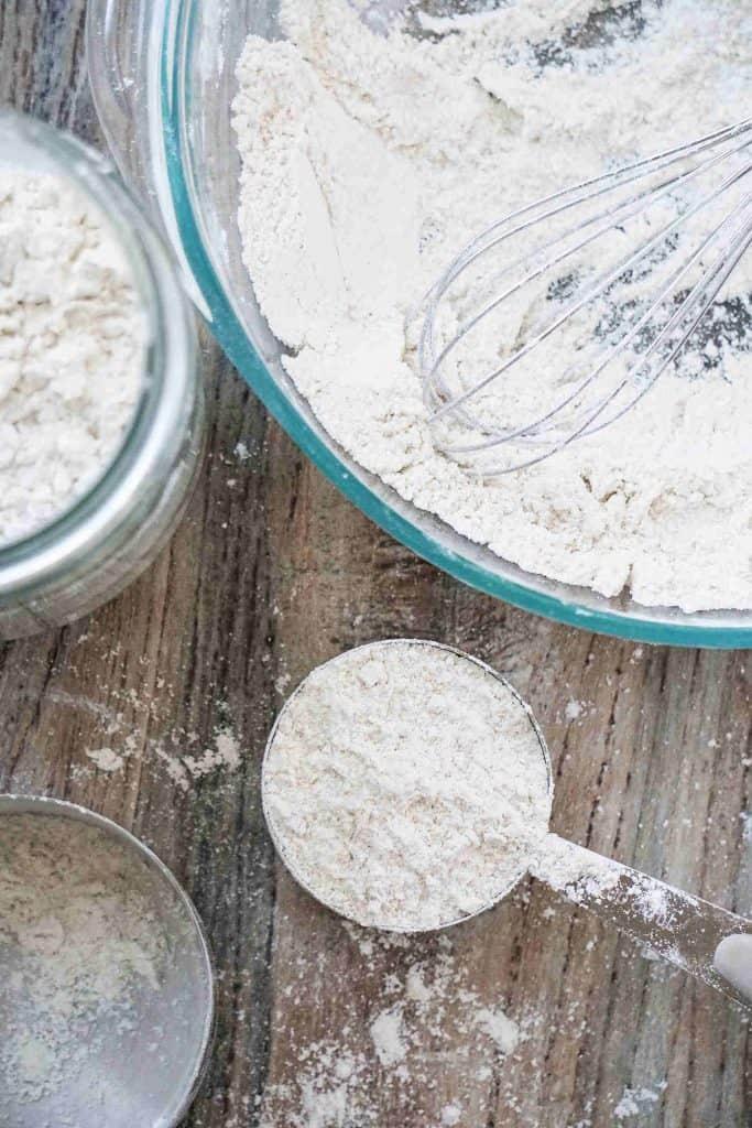 DIY Gluten Free Flou0r Blend / Mix Recipe  #glutenfreeflourmix #glutenfreeflourblend #glutenfreeflour #glutenfree