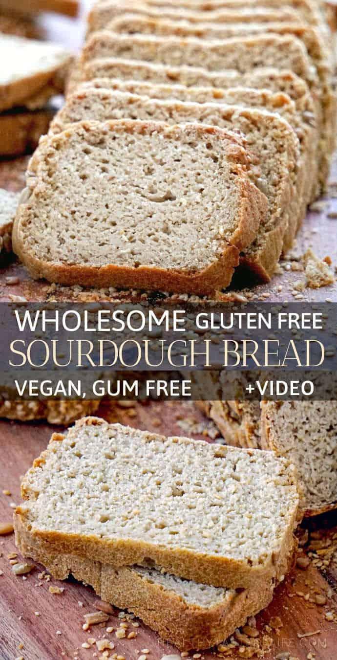 Gluten Free Sourdough Bread | Vegan, Yeast Free, Gum Free ...