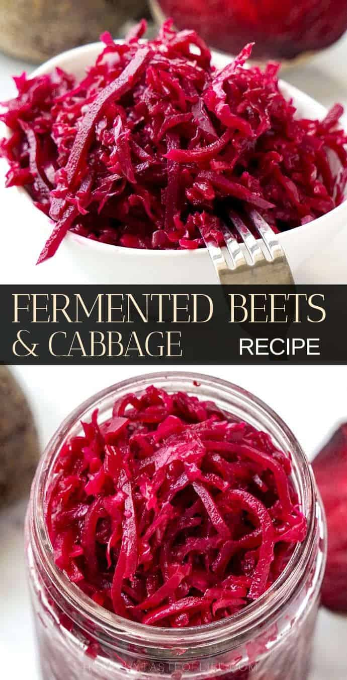 Lacto fermented beets and cabbage recipe pinterest