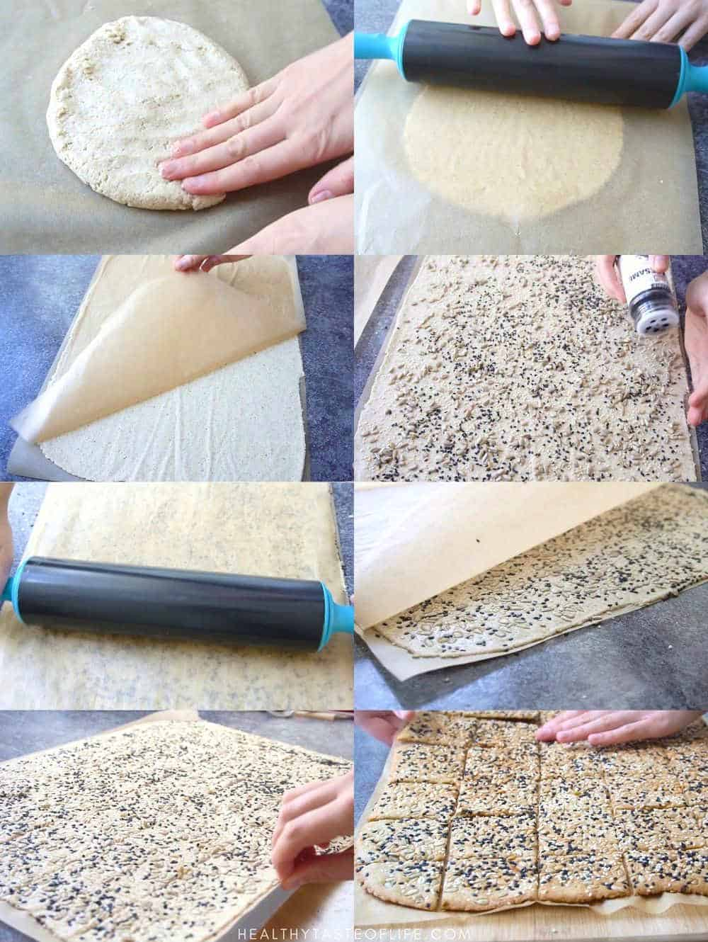 how to make vegan gluten free crackers with seeds
