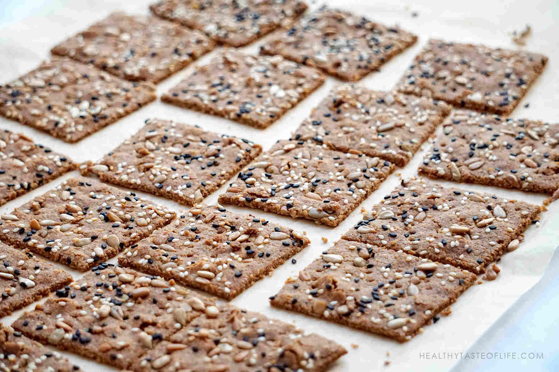 Homemade Low Carb Crackers Recipe