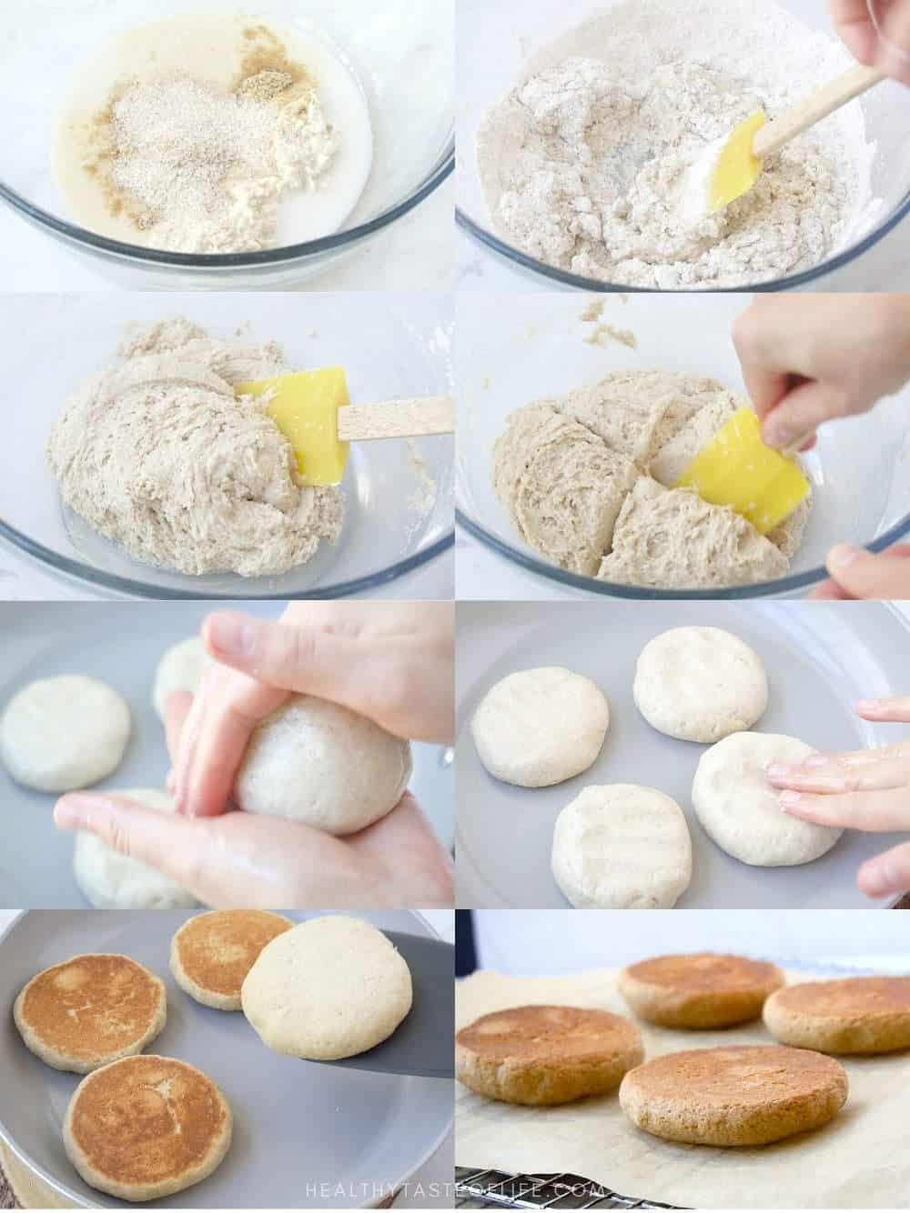How To Make Vegan Gluten Free English Muffins
