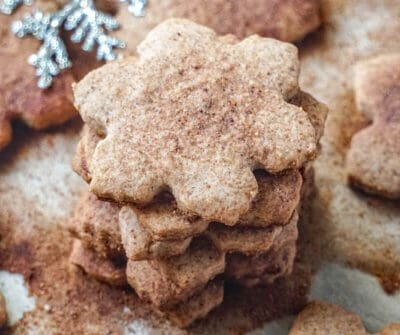 vegan gluten free sugar cookies for Christmas