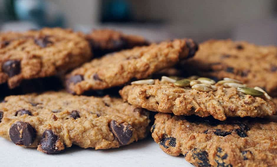 Healthy Vegan Oatmeal Cookies (Gluten Free Dairy Free Egg Free No Butter).