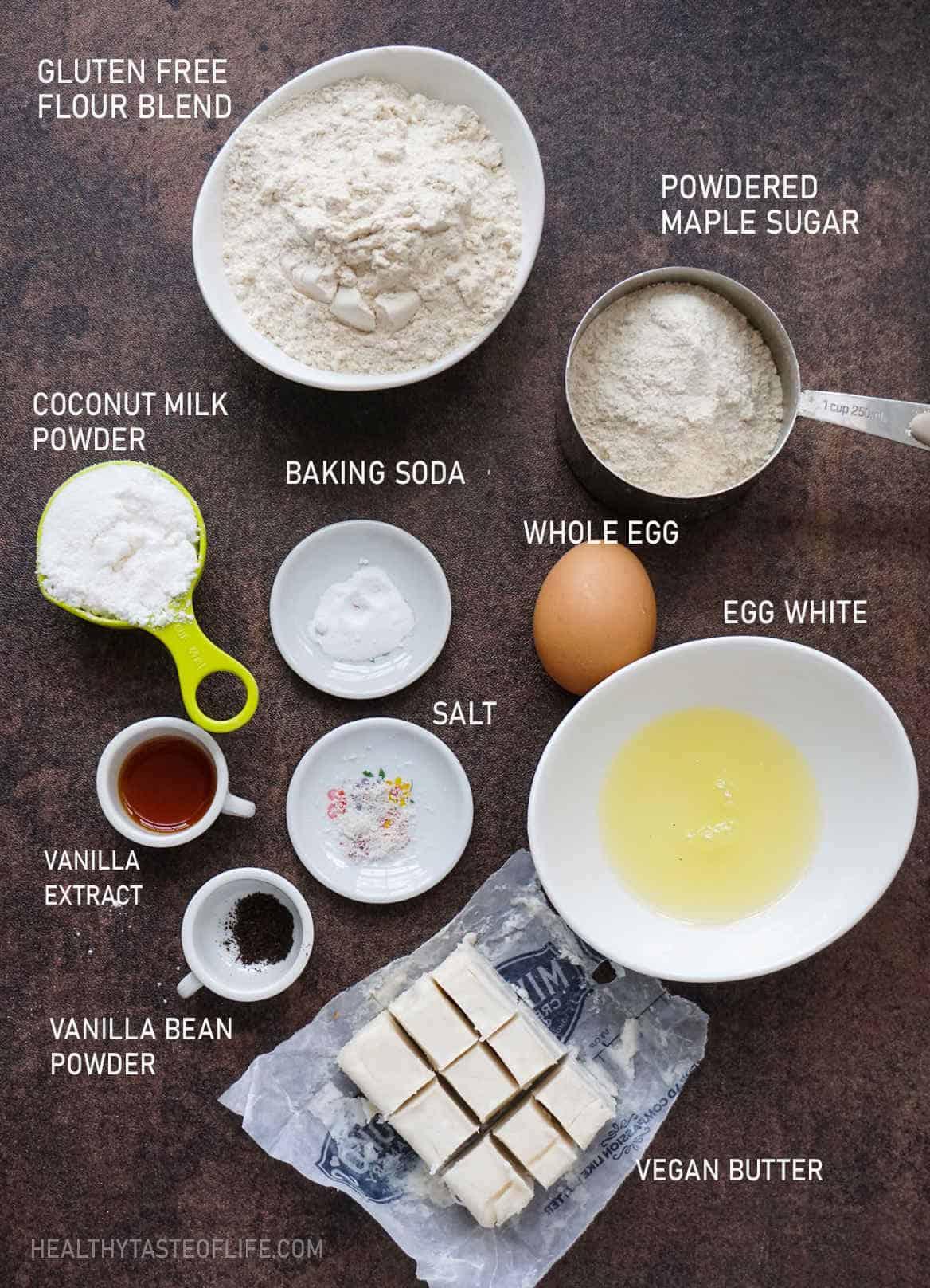 banana pudding ingredients gluten free dairy free