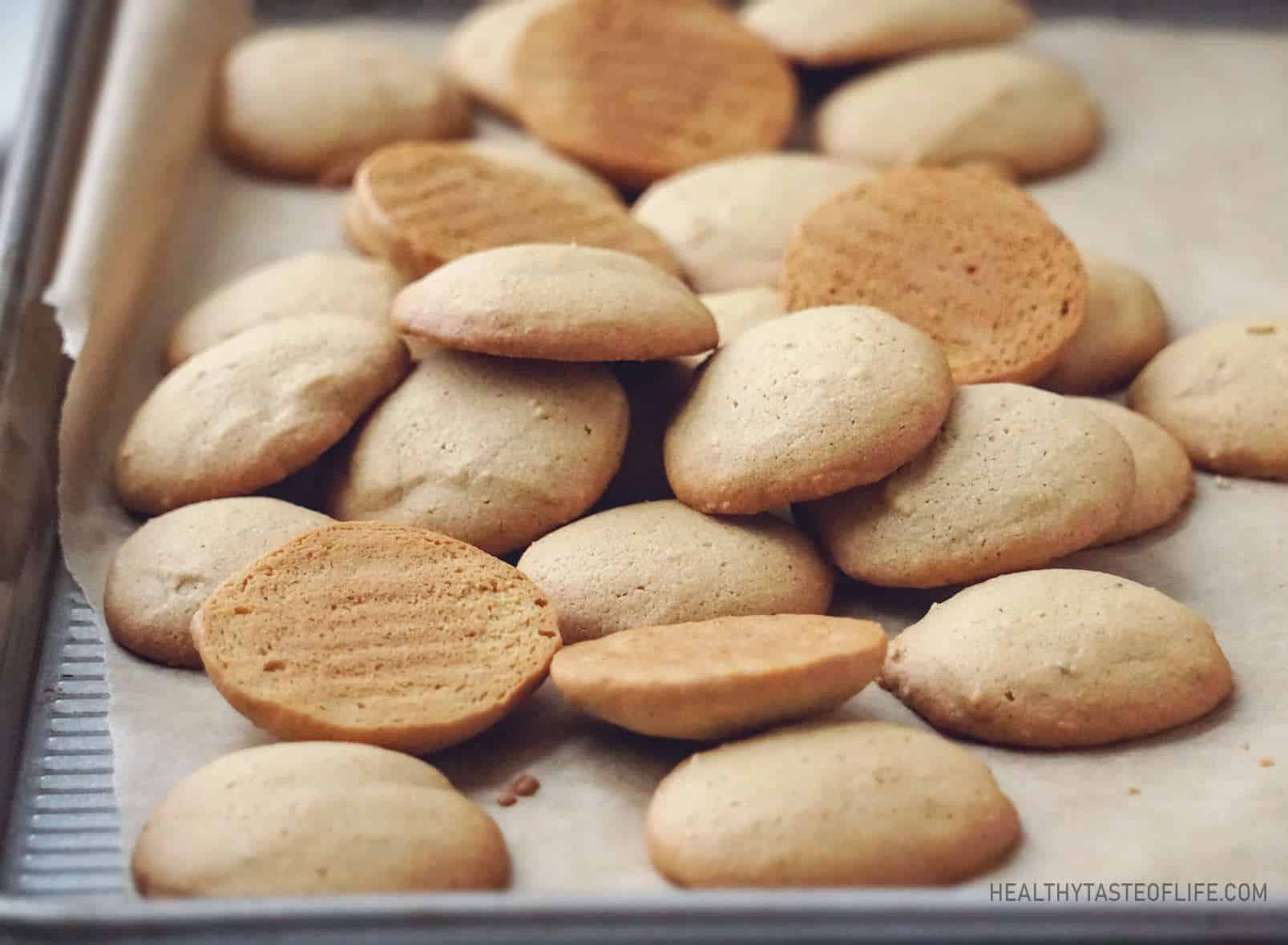 Homemade Gluten Free Vanilla Wafer Cookies (Dairy Free)
