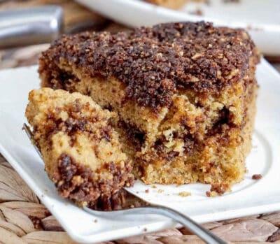 gluten free dairy free coffee cake recipe