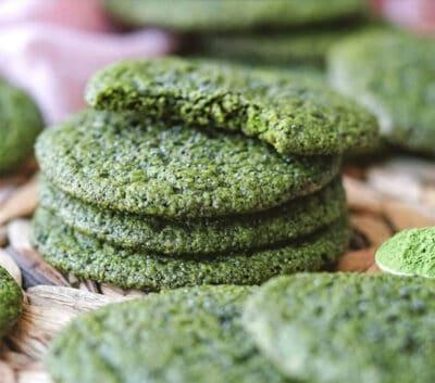 vegan matcha cookies recipe