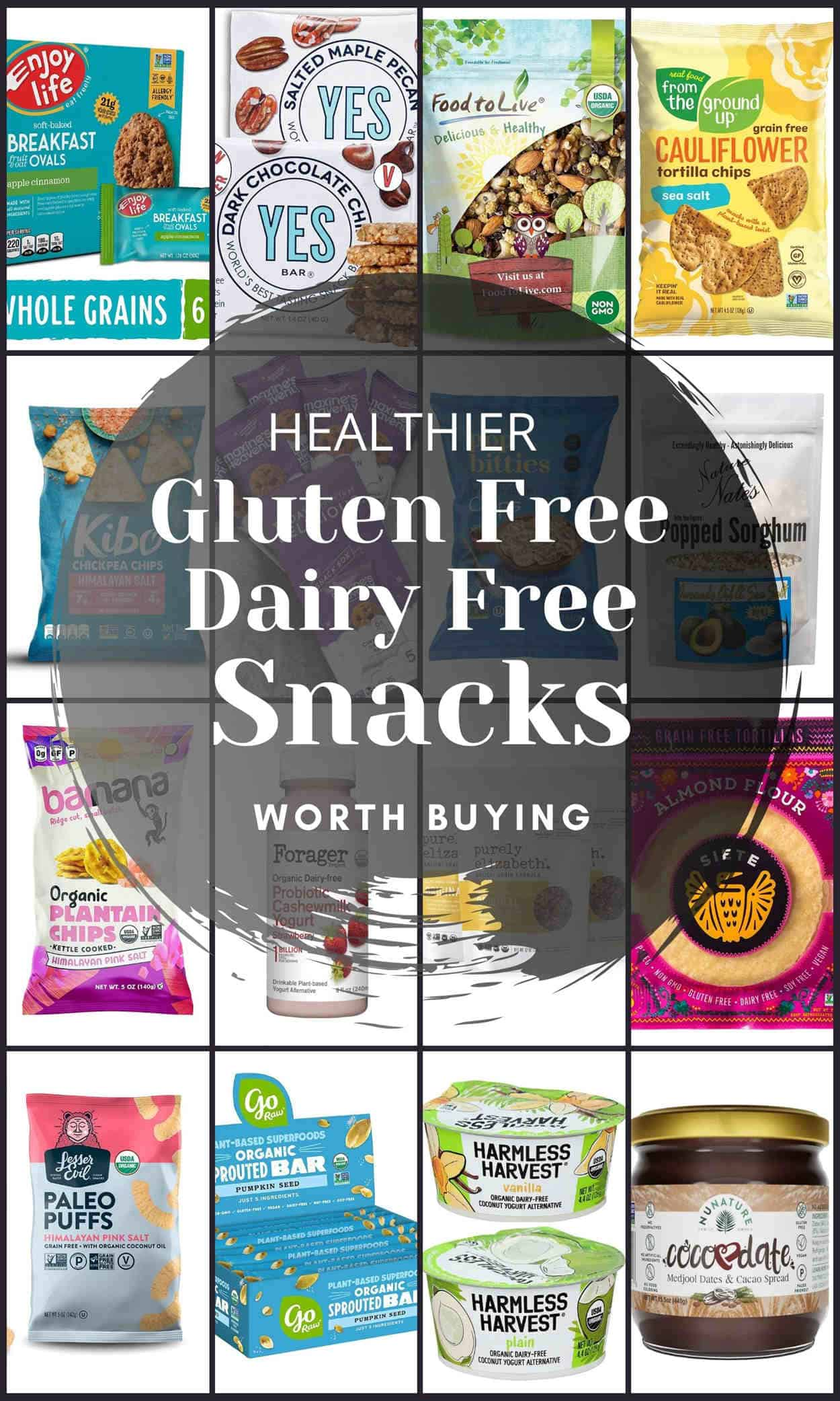 Gluten Free Dairy Free Snacks Worth Buying Plus Tips And Recipes.