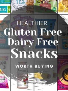 gluten free dairy free snacks