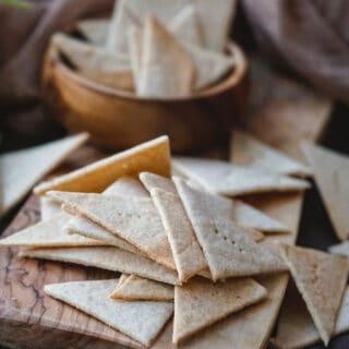 cassava crackers grain free