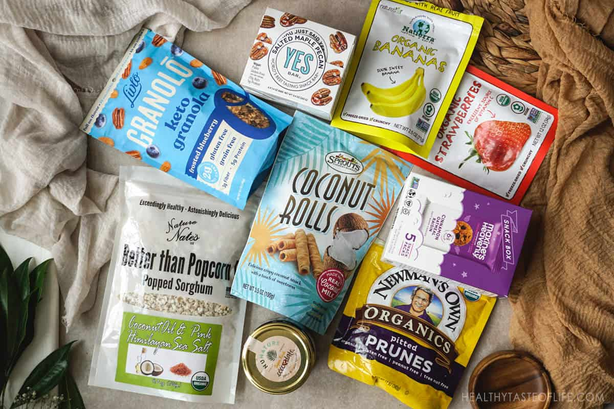 Best packaged gluten and dairy free snacks healthy.