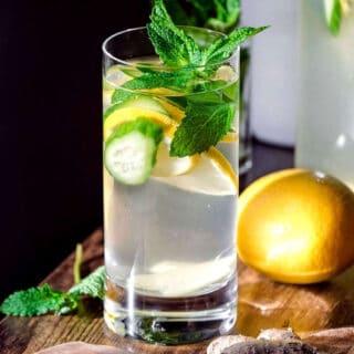cucumber lemon ginger water recipe