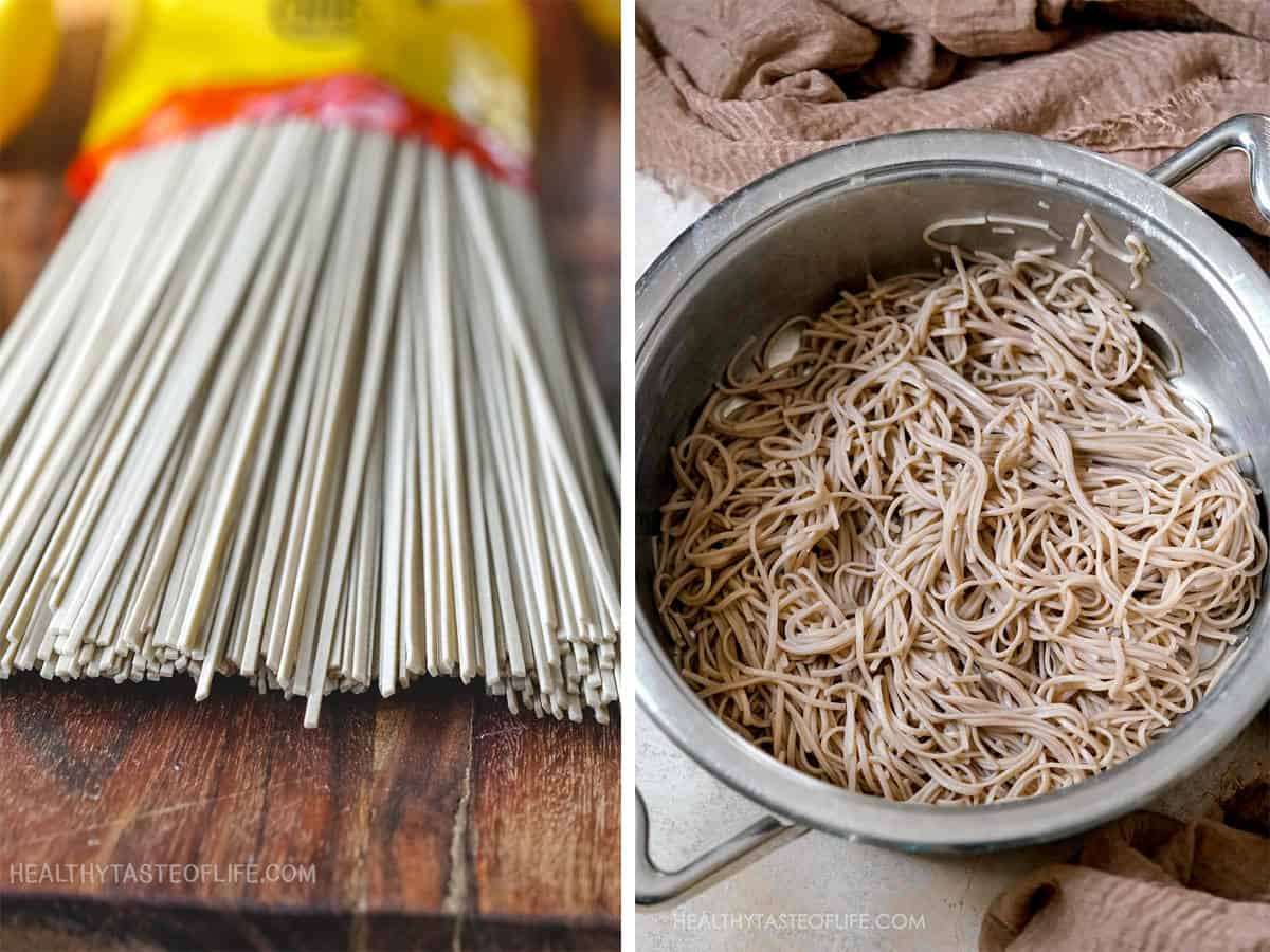 How to make / cook gluten free soba noodles.
