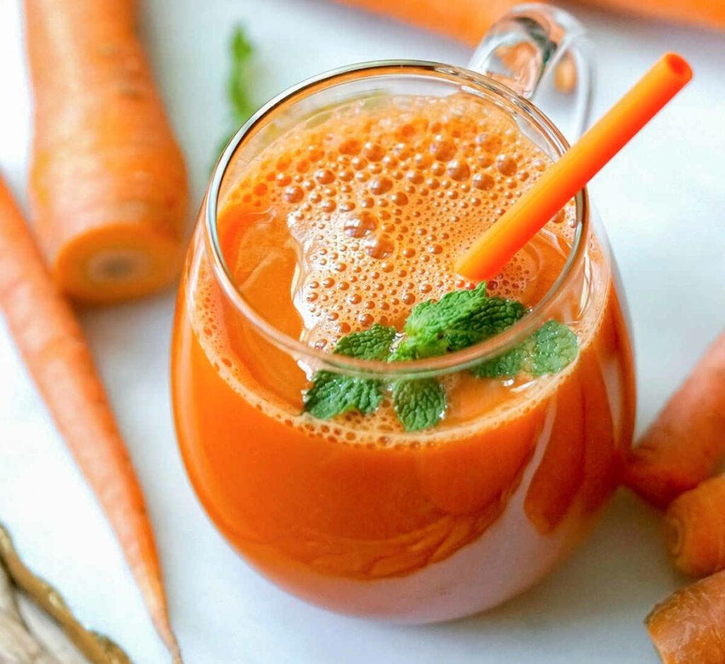 carrot juice recipe blender or juicer